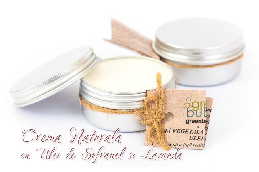 Crema Naturala cu Ulei de Sofranel si Lavanda
