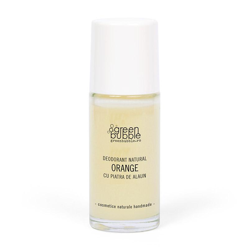Deodorant Natural Orange cu Piatra de Alaun